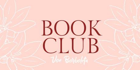 Encontro Book Club Voe Borboleta ingressos