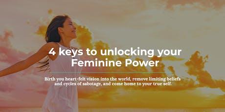 Unlocking the 4 Keys to Feminine Power  tickets