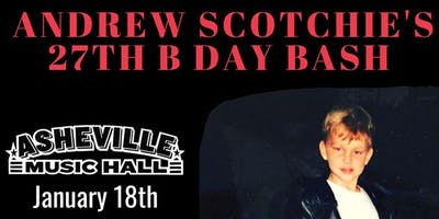 Andrew Scotchie & The River Rats Birthday Bash | Asheville Music Hall