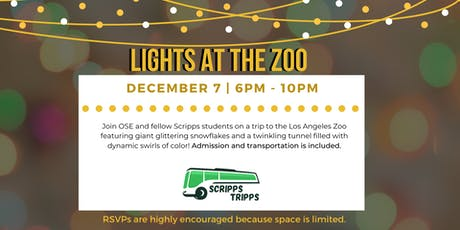 Scripps Tripp: Lights at the LA Zoo tickets