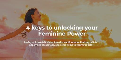 Unlocking the 4 Keys to Feminine Power
