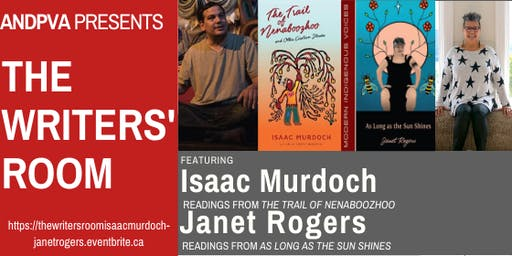 The Writers' Room Featuring Isaac Murdoch & Janet Rogers