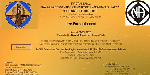 First Annual Bay Area Convention of Narcotics Anonymous