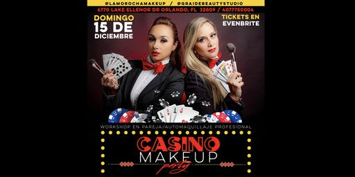 Makeup Casino Party