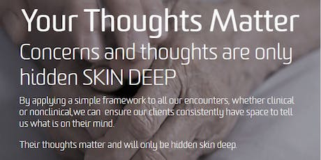 Your Thoughts Matter: SKINDEEP Workshop tickets