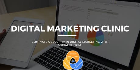 Digital Marketing Clinic with Social Sherpa tickets