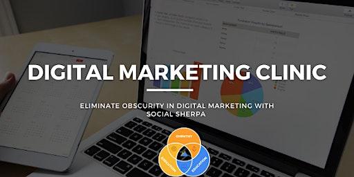 Digital Marketing Clinic with Social Sherpa