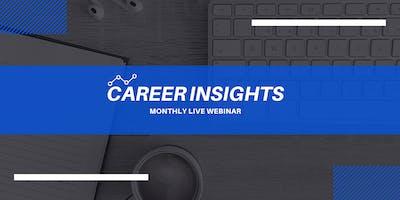 Career Insights: Monthly Digital Workshop - Newark