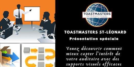 TOASTMASTERS ST-LÉONARD