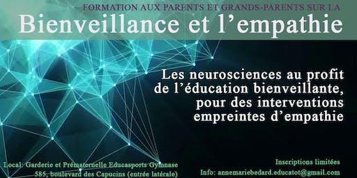 Formation sur la bienveillance - Prématernelle Educatot  Montessori