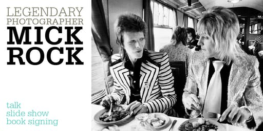 Park House + AIGA Present: Legendary Rock Photographer Mick Rock