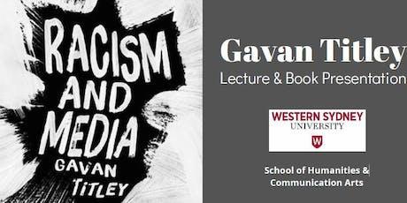 Gavan Titley Lecture & Book Presentation tickets