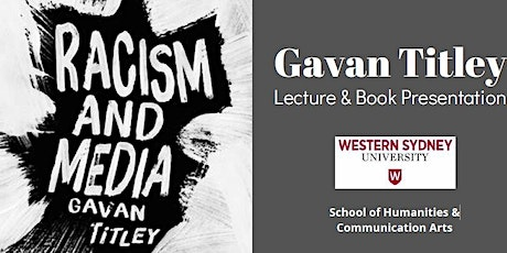 Gavan Titley Lecture & Book Presentation tickets