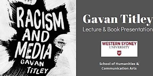 Gavan Titley Lecture & Book Presentation