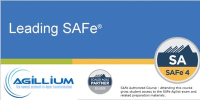 Leading SAFe® w/SA Certification - Newark, NJ - weekend class