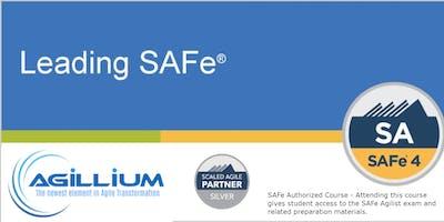 Leading SAFe® w/SA Certification - Newark, NJ - weekend class
