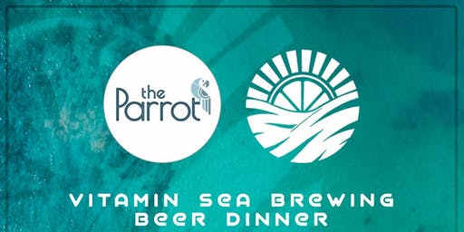 Vitamin Sea Beer Dinner at The Parrot