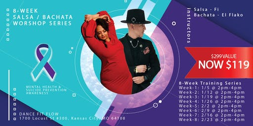 8-Week Salsa/Bachata Beginners Workshop Series