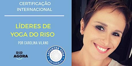 Líder de Yoga do Riso - Certificação Internacional bilhetes