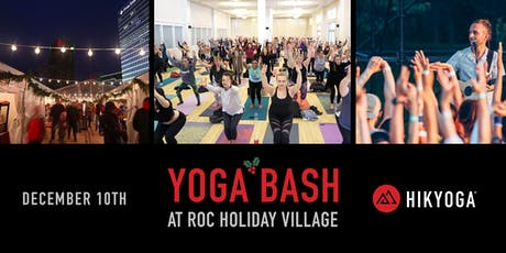 Yoga Bash at Roc Holiday Village tickets