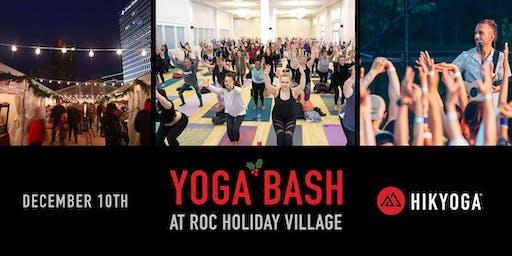 Yoga Bash at Roc Holiday Village