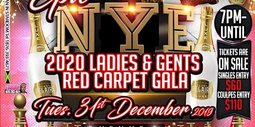 2020 NYE Ladies & Gents Red Carpet GALA