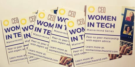 Women in Tech - Learn about our Masterminds tickets