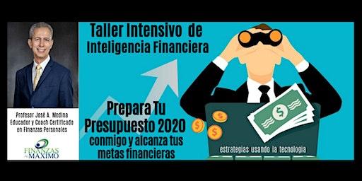 """""""Prepara Tu Presupuesto 2020 conmigo y alcanza Tus Metas Financieras"""""""