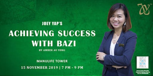 Joey Yap's Achieving Success with Bazi