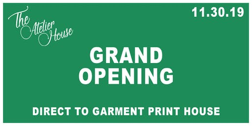 The Atelier House | Grand Opening
