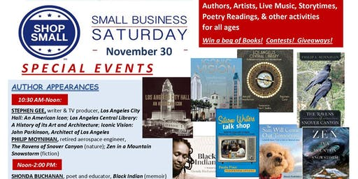 Holiday Open House celebrating Small Business Saturday