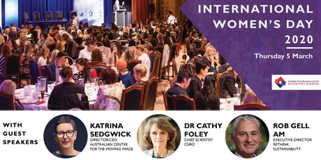 ACBC Vic: International Women's Day 2020 tickets