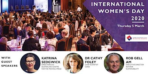 ACBC Vic: International Women's Day 2020