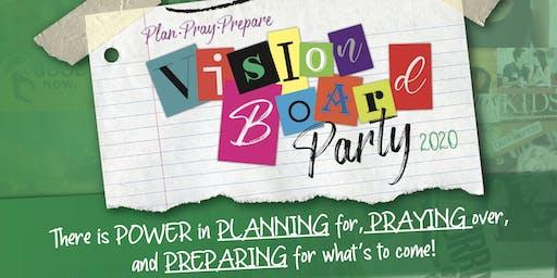 Plan.Pray.Prepare Vision Board Party 2020