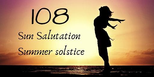 108 Sun Salutation-Summer solstice