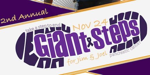 2nd Annual Giant Steps for Jim & Joel on November 24, 2019