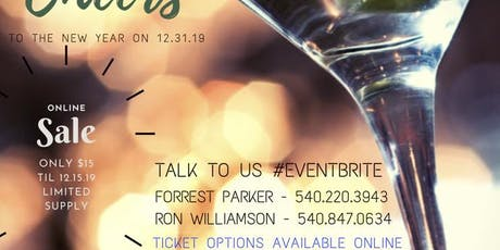 Cheers New Year's Bash tickets