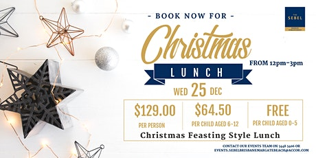 Christmas Day Lunch tickets