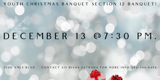 Section 12 Christmas Banquet