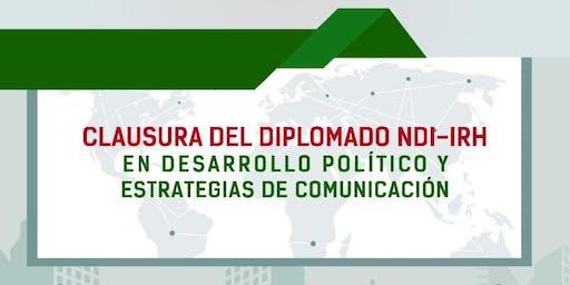 Clausura Diplomado NDI + Conferencias