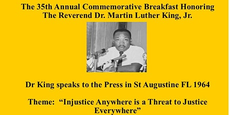 35th ANNUAL DR MARTIN LUTHER KING Jr BIRTHDAY CELEBRATION tickets