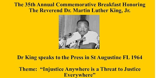35th ANNUAL DR MARTIN LUTHER KING Jr BIRTHDAY CELEBRATION
