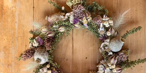 This Circle is Beautiful-  Seasonal Wreath Making Class