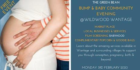 Green Bean Bump & Baby Community Evening - Feb 2020 tickets