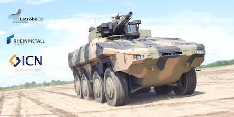 Rheinmetall Defence Australia Industry Briefing tickets