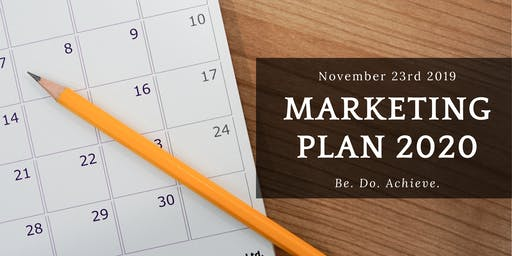 Plan Your 2020 Marketing Workshop