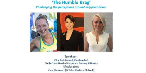 Citi Women's Network Australia panel discussion: 'The Humble Brag'