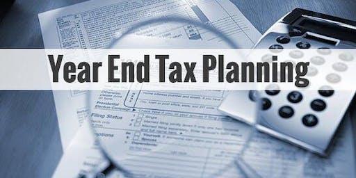 2019年底前税务规划