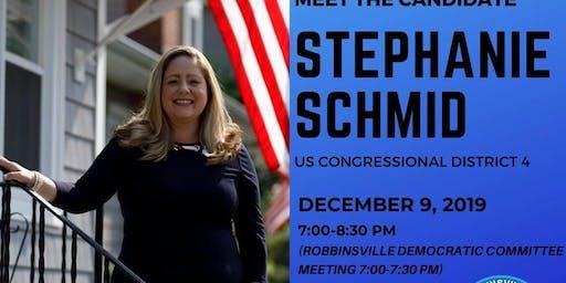 Meet Candidate for Congress Stephanie Schmid