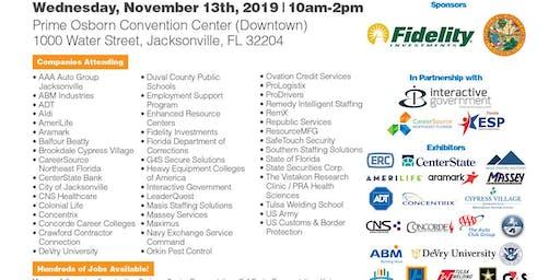 ** Huge Jacksonville Job Fair - 40 Companies & 100's of Jobs **